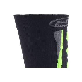 Northwave Extreme Winter High Socks Black/Green Fluo